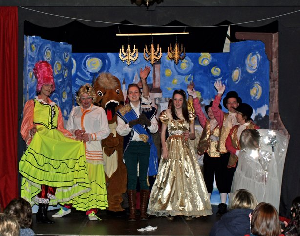 Pilton Panto 2013 'Cinderella' at the Green Man