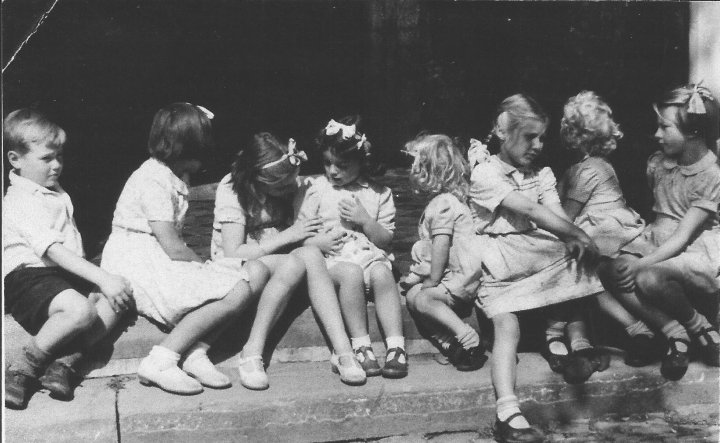 Pilton Children in 1948
