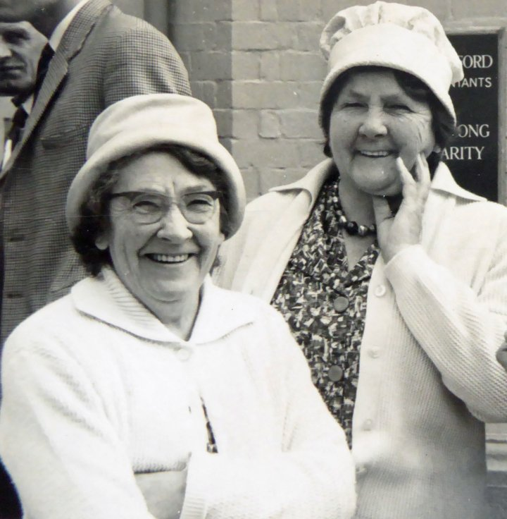 Elsie and Rose Stevens of 55 Rolle Street