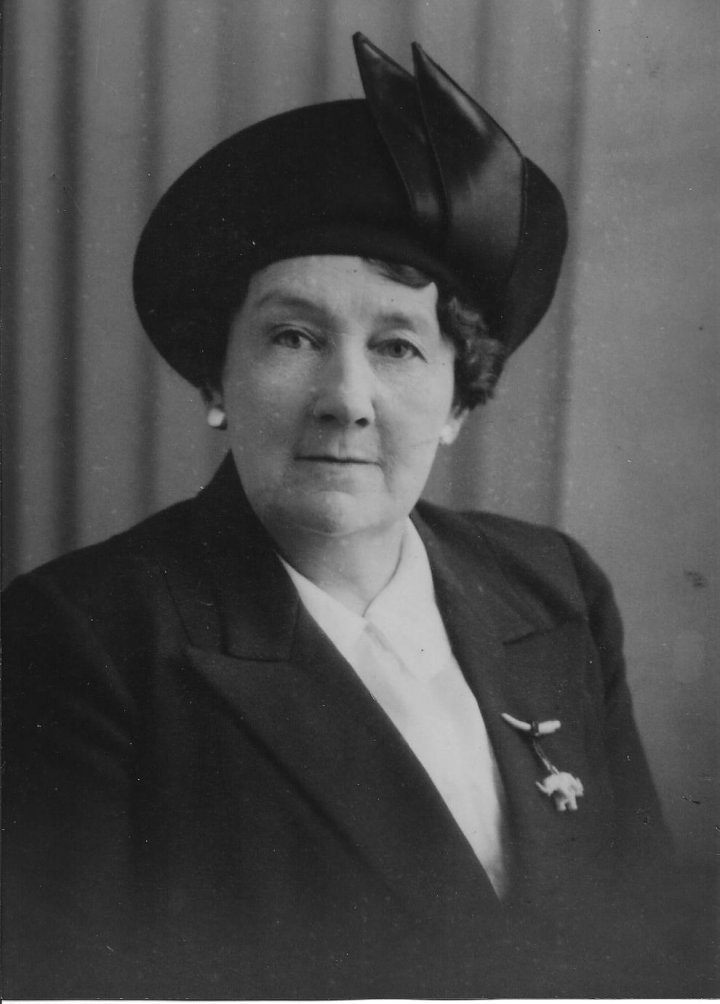 Bessie Parsley of 46 The Rock, Pilton in about 1940