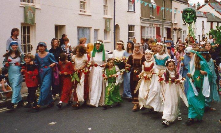 Pilton Green Man Festival Parade 1997