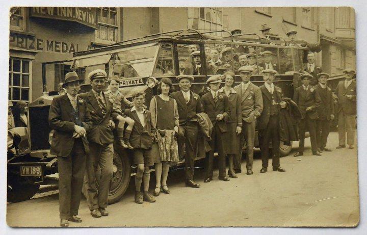 New Inn Annual Outing c. 1930