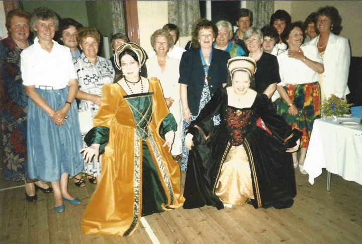 Soroptimist International Wine Cheese Party in Pilton Church Hall in July 1997 following an Evening of Tudor Music & Readings fo