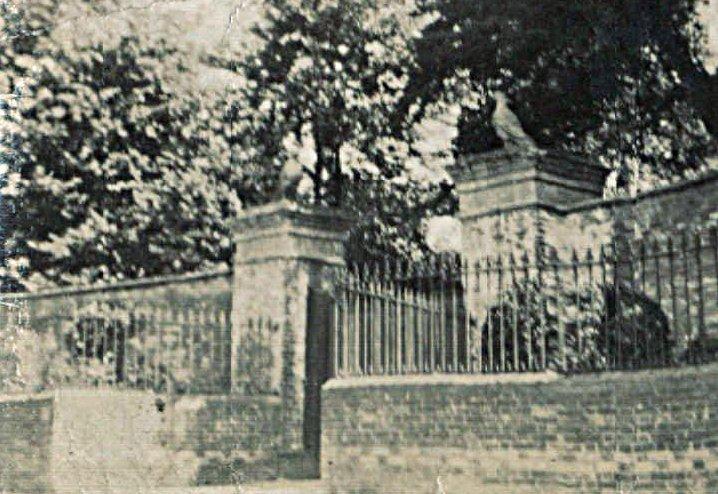 Eagles on the Entrance to Pilton House