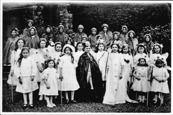 Play by the Girls of Pilton School in about 1928