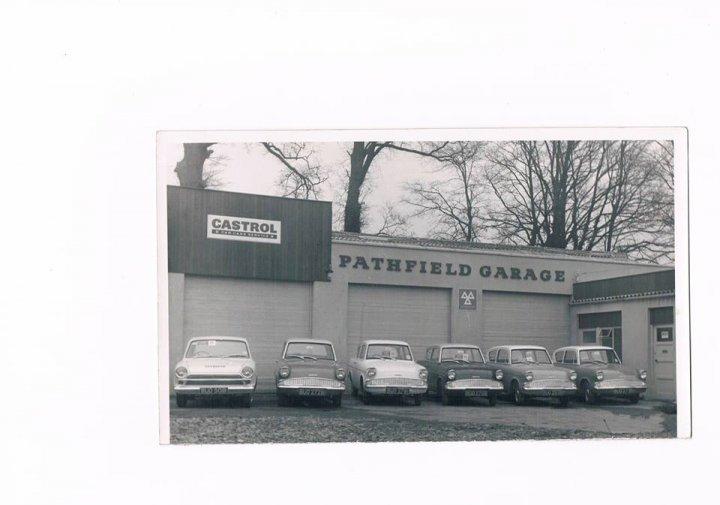 Douglas Bray's Pathfield Garage Car Hire Fleet 1964