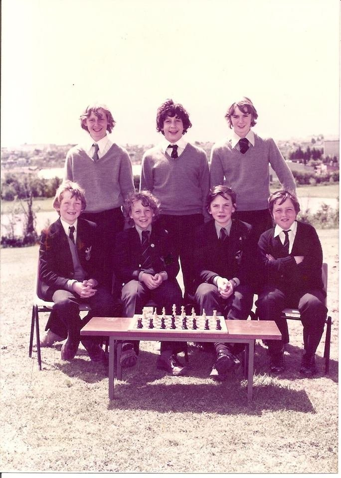 Pilton Community College Chess Club 1979
