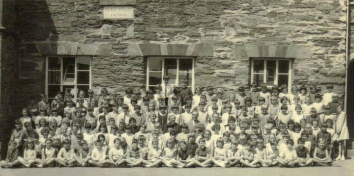 The Entire Pilton Church School in 1965-1966