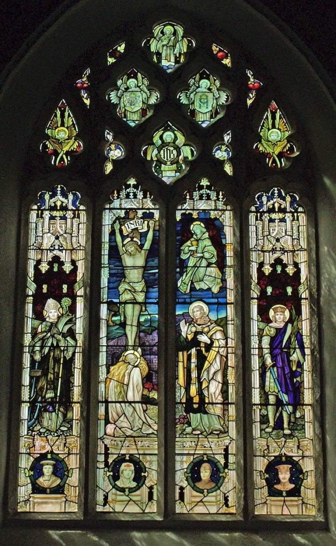 The 1914-18 Great War Memorial West Window of Pilton Church