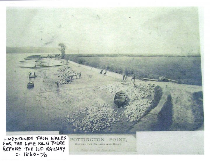 Pottington Point c1860-70 before the Ilfracombe Railway was built