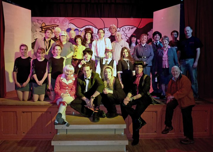 Pilton Pantomime 2011 : Cast and Crew of 'From Benidorm with Love'