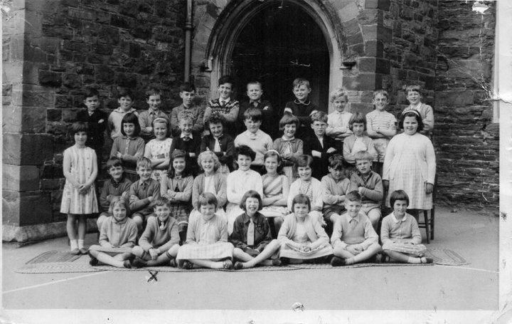 Pilton School in 1964 (not 1961/62 as previously thought)