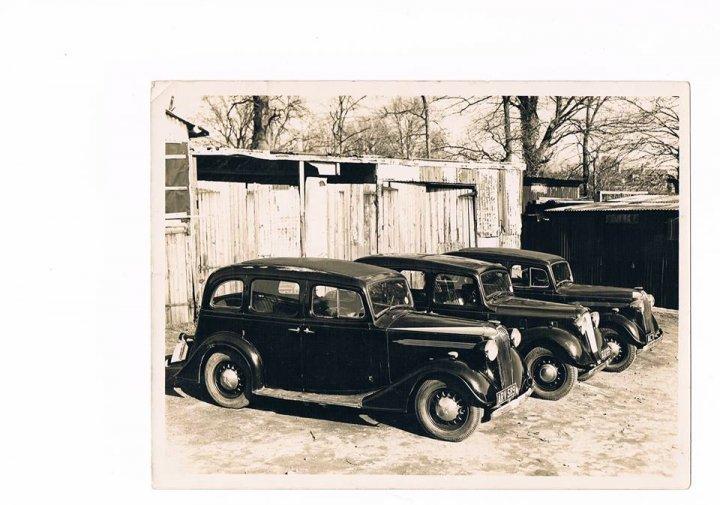 Douglas Bray's Car Hire Fleet in 1952
