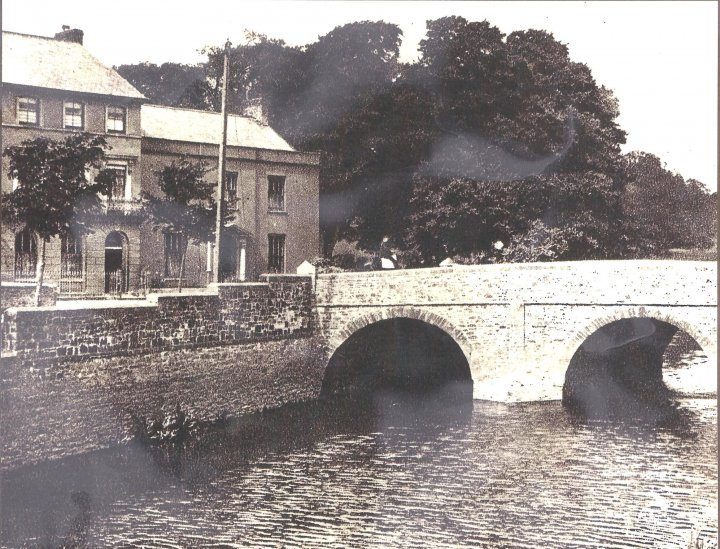 Pilton Bridge in 1920s
