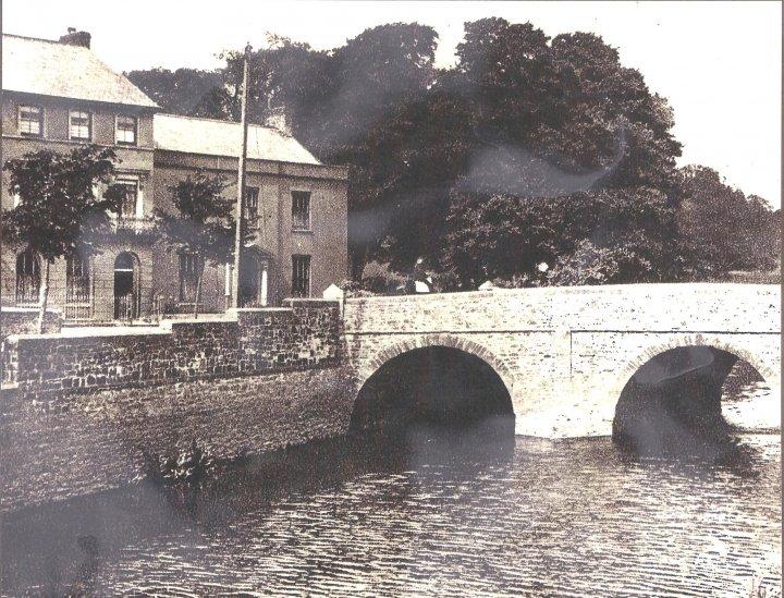 Pilton Bridge in 1920s
