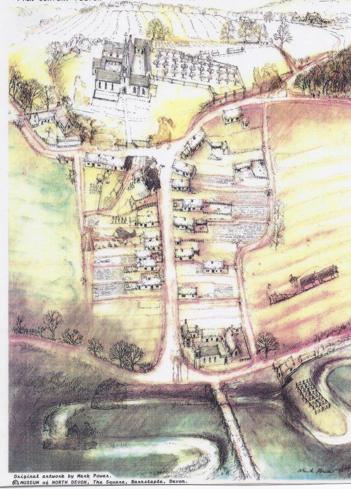Pilton Street in 14th Century by Mark Power