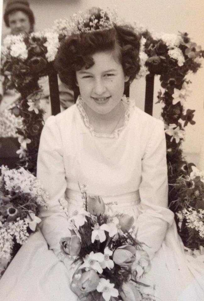 Sandie West was Pilton May Queen in 1963