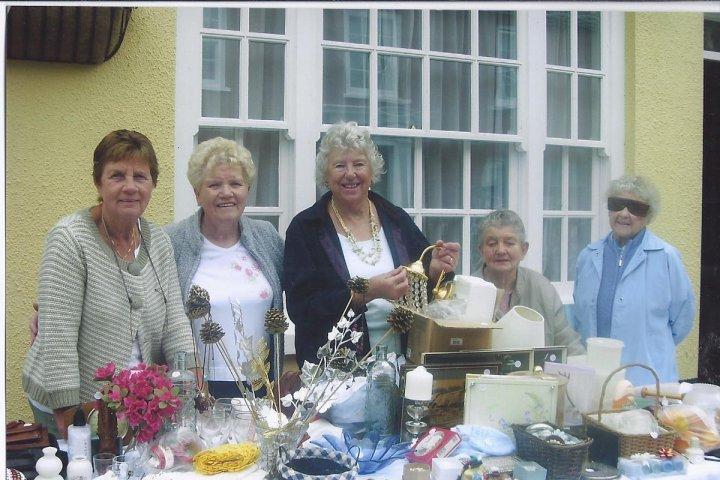 Pilton Women's Institute Stall at Pilton Festival