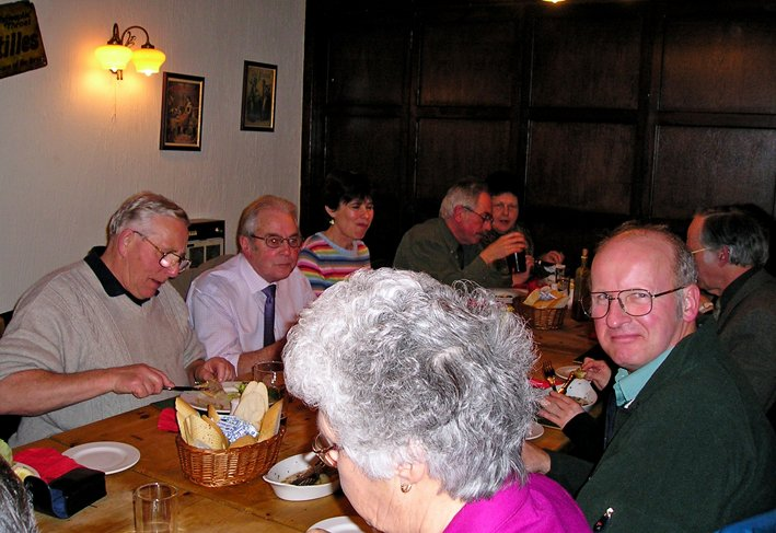 St Mary's Church, Pilton, Bellringers Annual Dinner 2004 (Photo 3)