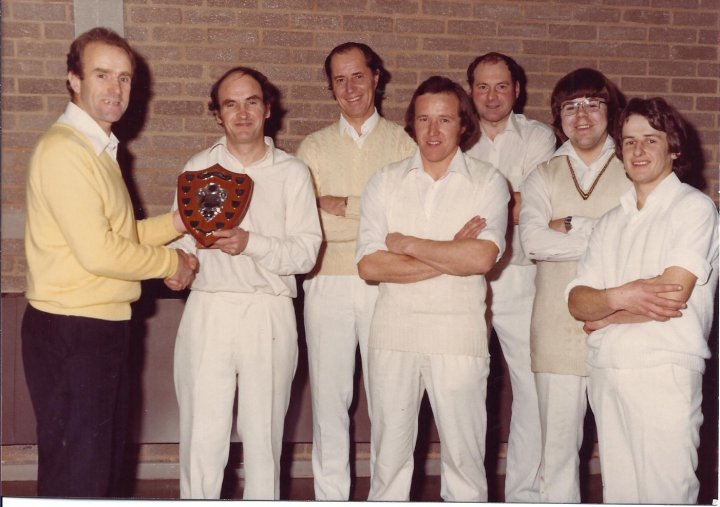 Pilton Cricket Club win 1978/79 Indoor 6-a-side Cricket Competition