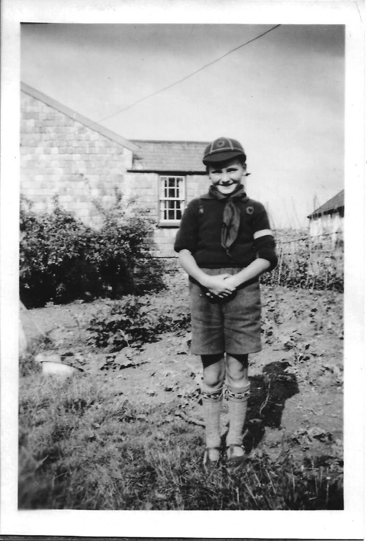 John Norman at 61 Littabourne in 1950 as a Cub Scout