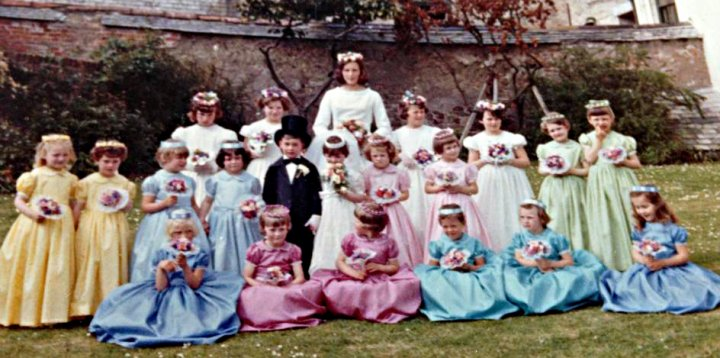 May Fayre, Pilton House around 1966