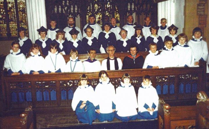 Pilton Church Choir 1980