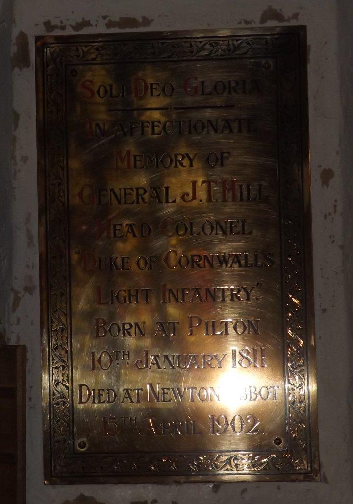 General John T Hill (1811 - 1902)