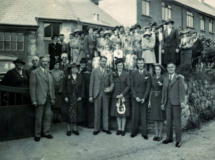 The Wedding Reception of Alfred Martin Brown and Mary Margarite Harper on 17th September 1941