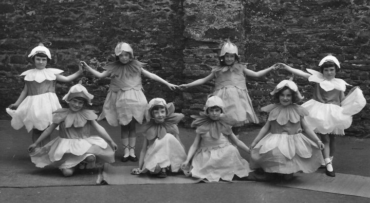 Bluebells at a Pilton Parish Hall Concert Party in 1936