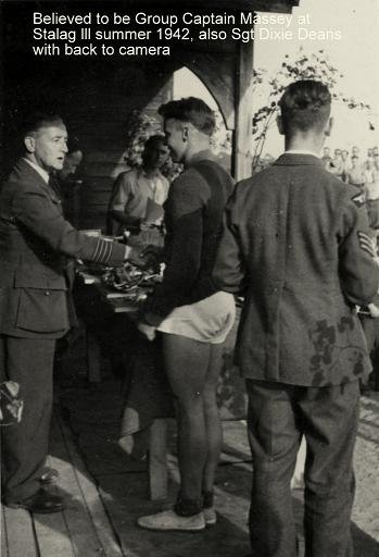 Air Commodore Herbert Martin Massey, Senior British Officer at Stalag Luft III in 1943