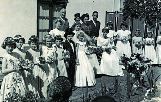 May Fayre at Pilton House, 13th May 1961