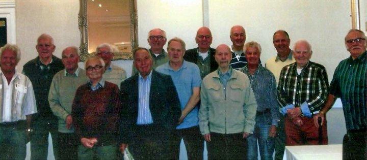 Pilton School Reunion (1945-55) in May 2016 : The Men