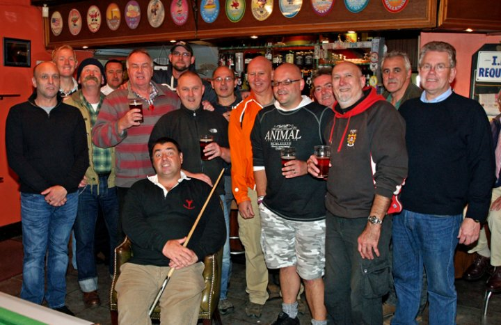 Movember 2012 comes to The Reform Inn