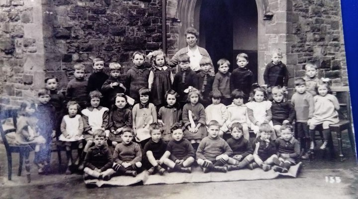 The Pilton School in about 1923