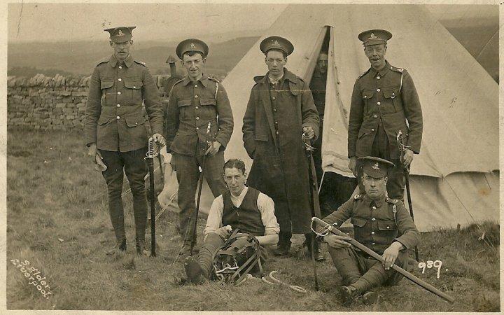 Albert Thorne of Pilton during World War I