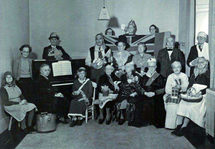 Pilton House Residents' Christmas Party 1954