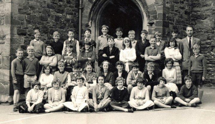 Pilton Junior School Top Class in 1963-64