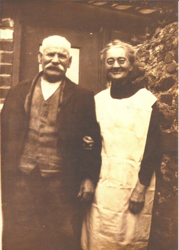 Ellen and Samuel Blake of The Rock, Pilton