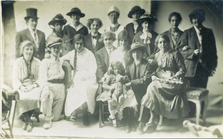Pilton Girls' Friendly Society Play  in about 1920