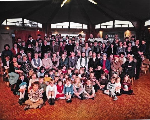 A Study in Pilton Bluecoat School on Stir-Up Sunday in 1983