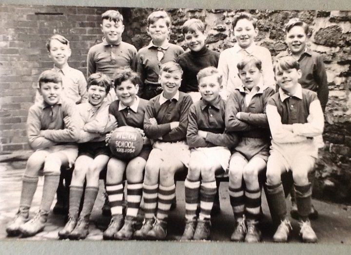Pilton School Football Team 1953-54