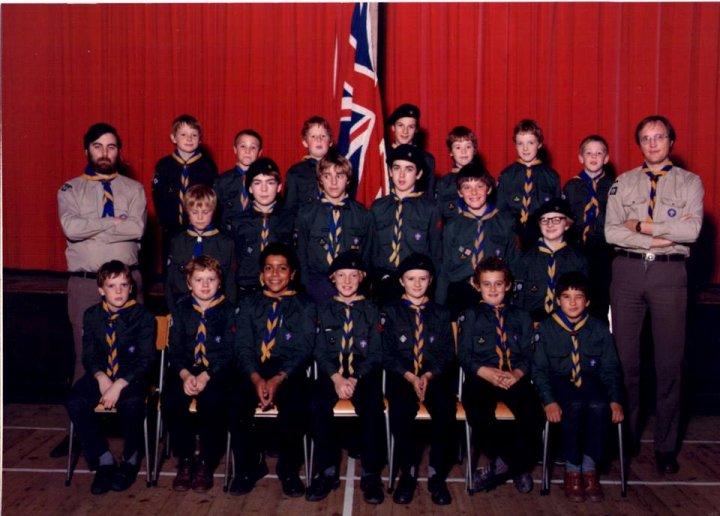 12th North Devon Scouts 1982/83