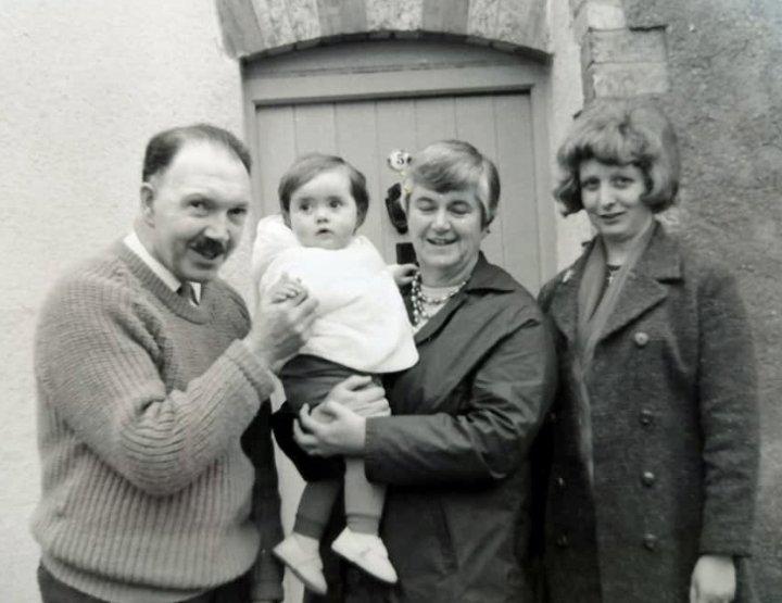 Bill and Mary Norman of 5 Pilton Street