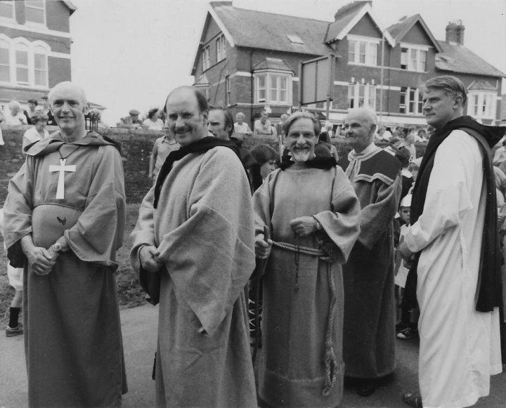 Pilton Festival Monks 1982