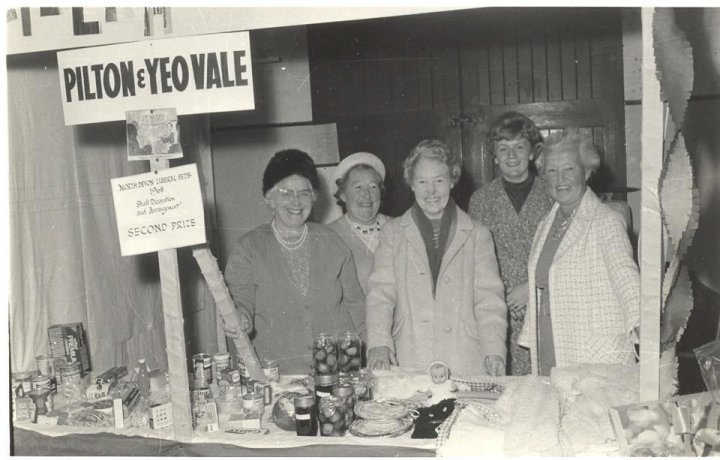 Pilton & Yeo Vale Liberal Branch Stall at the North Devon Liberal Fete 1968