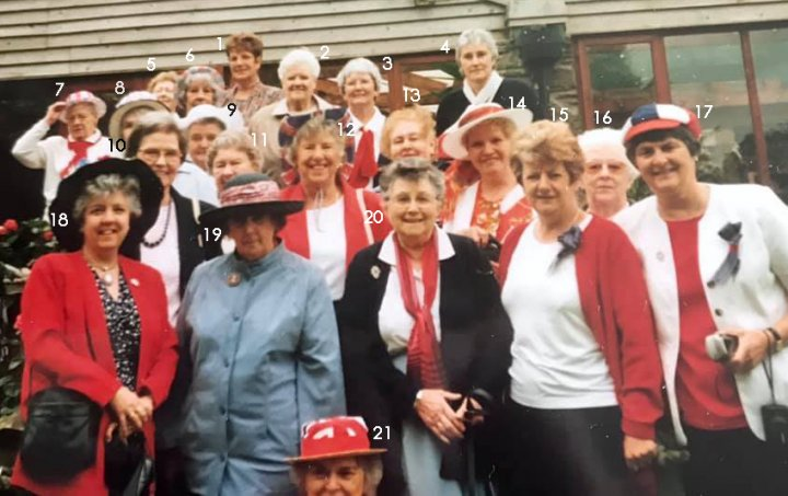 Pilton Women's Institute visit to Ashford Garden Centre at the time of the Millenium celebrations in 2000.