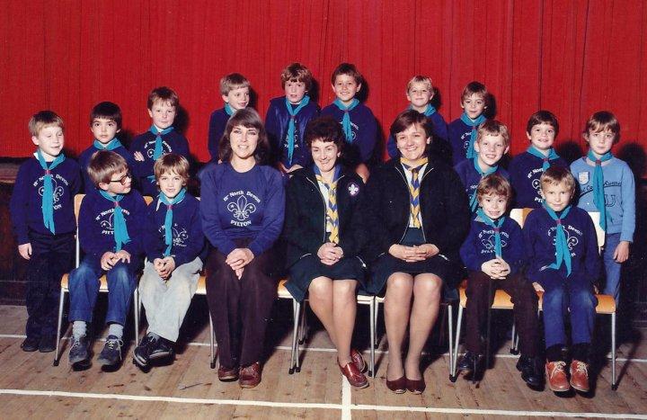 12th North Devon Beavers at Christmas 1983