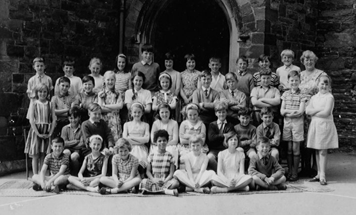 Miss Turner's class at Pilton Primary School in 1964