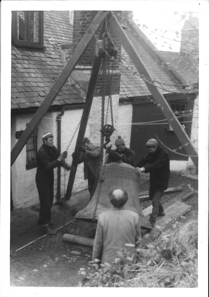 Restoration of the Bells of St Mary's Church in 1969-70